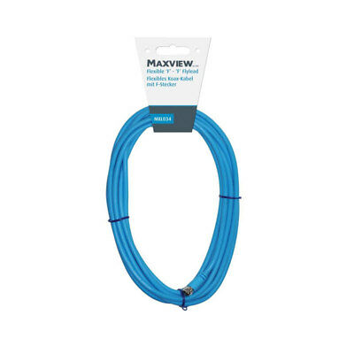 Maxview flexibles Koax-Kabel 10 m, mit F-Stecker