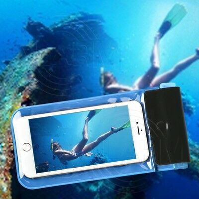 Wasserdichte Smartphone Handy Tasche Hülle Strand Safe Transparent Case Flexibel