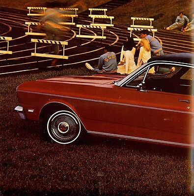 "1969 - FORD ""Falcon"" - Futura Sports Coupé, Wagons, etc - USA sales brochure"
