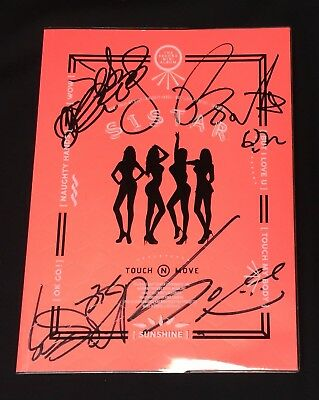 SISTAR 2ND MINI Album [TOUCH & MOVE] Touch My Body Vol 2 :: CD+