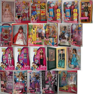 Barbie Doll mattel-choose: Collector, I Can Be Toy Story, Birthday Ken