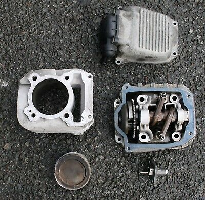 Vespa Et4 125 Et4125 2002 Engine Cylinder Head  Malossi Cylinder Barrel Piston