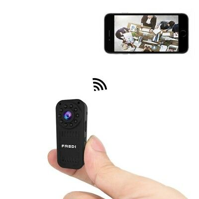 Spy Camera Hidden Wireless Mini Security IP Motion Detection Night Vision Home