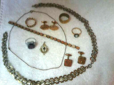 Lot Of Vintage And Antique Jewelry  For Parts Repair