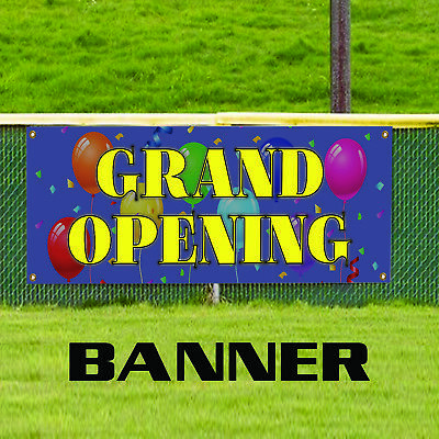 Grand Opening Promotion New Business Open Store Shop Retail Banner Sign
