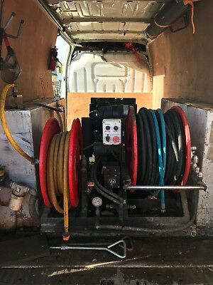 Drain Jetter Jetting Unit Van Pack