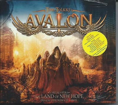 Timo Tolkki - Avalon - The Land of New Hope...A Metal Opera - Deluxe CD & DVD