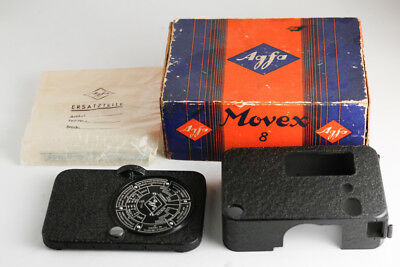 vintage antique AGFA MOVEX 8 CAMERA BODY WITH BOX spare part rare 8mm
