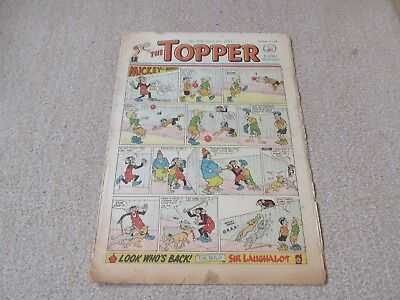 """Topper comic,No 544- July 6th 1963- - Fair Condition """" Young Hammerfist """""""