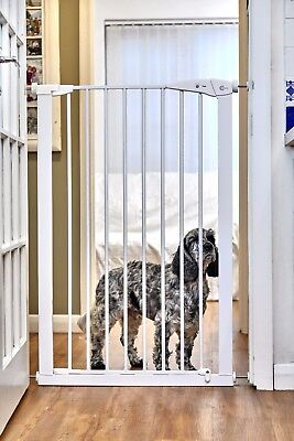 Callowesse Extra Tall Pet Safety Gate 75-82Cm - Warehouse Clearance