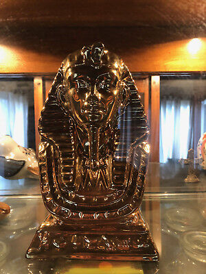 Egyptian Ancient Pharaoh King Tut Bust Figurine Statue trophy gold gods rare
