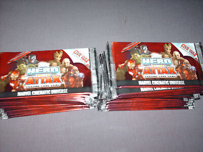 Topps Hero Attax Marvel Cinematic Universe - 45 Booster (225 Cards)