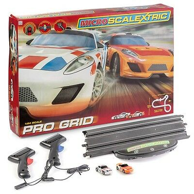 G1102 Micro Scalextric Pro Grid Slot Car Set 1:64 Scale lowest best price new