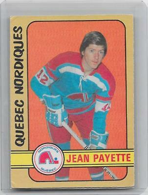 1972-73 OPC O-Pee-Chee hockey Jean Payette High Number WHA card #311 EX+ SP RARE
