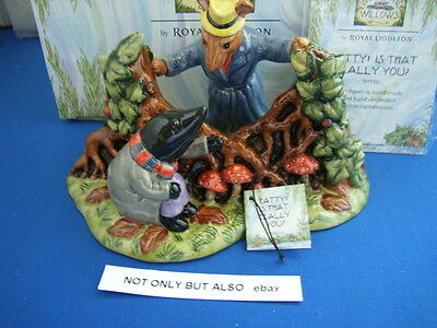 RATTY IS THAT REALLY YOU WIND IN THE WILLOWS WW10 ROYAL DOULTON mib