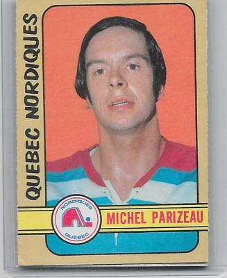 1972-73 OPC O-Pee-Chee hockey Michel Parizeau High Number WHA card #335 EX+++ SP