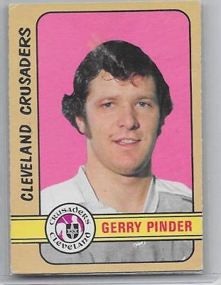 1972-73 OPC O-Pee-Chee Gerry Pinder High Number WHA LAST card #341 EX++ RARE !