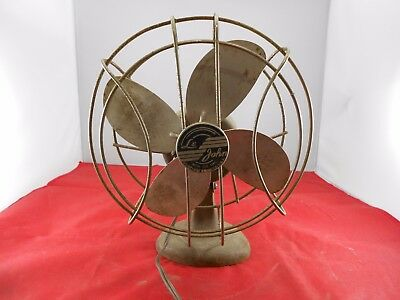 Vintage Collectible Le John Electric Fan - Working