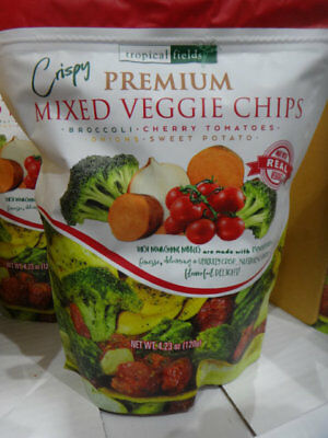 NEW Tropical Fields Premium Veggie Chips 120G from Fairdinks