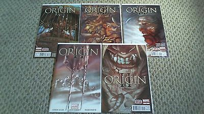 Origin Ii #1-5, 1 2 3 4 5 Complete Series Set Marvel 2014 /1552/