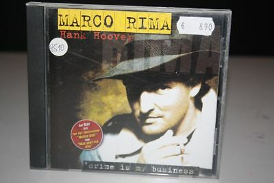 MARCO RIMA Hank Hoover - CD HÖRBUCH - Crime is my Business