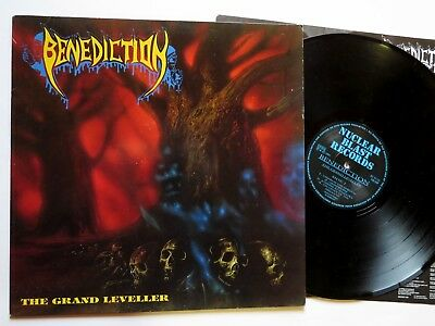 BENEDICTION - The Grand Leveller LP 1991 first press NB 048 - sinister dismember