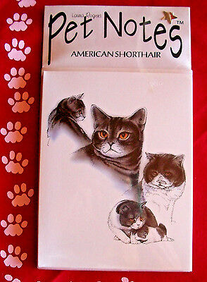 American Shorthair Cat Note Cards