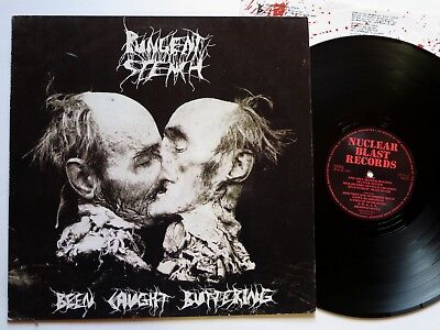 PUNGENT STENCH - Been Caught Buttering LP - Nuclear Blast 1991