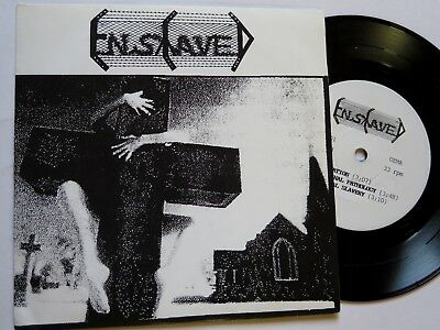 "Enslaved / Necromance SPLIT-7"" Death Metal - Morbid Rec. 1991"