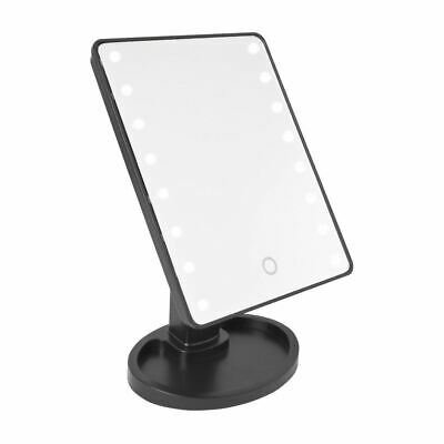 Magnifying 16 Led Light Mirror Illuminated Touch Screen Make Up Beauty Cosmetic