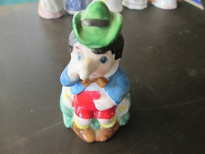 Vintage collectable Leprechaun bell cartoon themed china pottery buy 1 get half