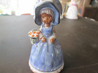 Vintage collectable bell cartoon themed bone china girl buy 1 and 2nd half price