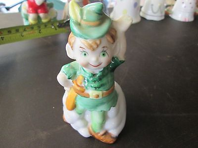 Vintage collectable bell Leprechaun themed bone china buy 1 and 2nd half price