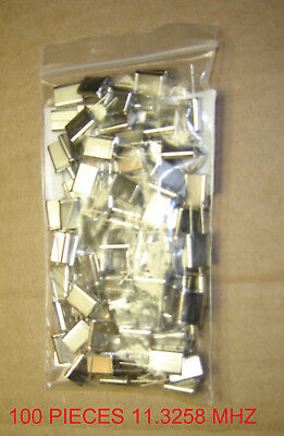 11.3258 Mhz Xtal for cb uniden cobra and others 100 Pieces jobber pack