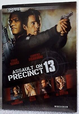 Assault on Precinct 13 (DVD 2005 Widescreen) Drama Film New Sealed Free Shipping