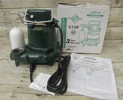 Zoeller M53-D 0.3HP 50 Series Submersible Sump Pump