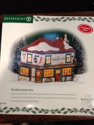 Dept 56 Dickens Village Series The Old Curiosity Shop New In Box
