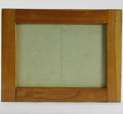 """SCOVILL 5x7"""" Hardwood ZIAtype Heavy Weight Contact Printing Frame used"""