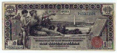 1896 $1.00 Educational Note - Grades A Nice Very Fine +