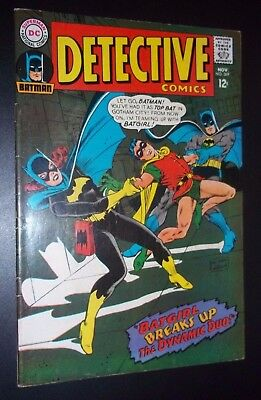 DETECTIVE COMICS #369 BATMAN~ SILVER-AGE F- Condition~ 4th Appearance of BATGIRL