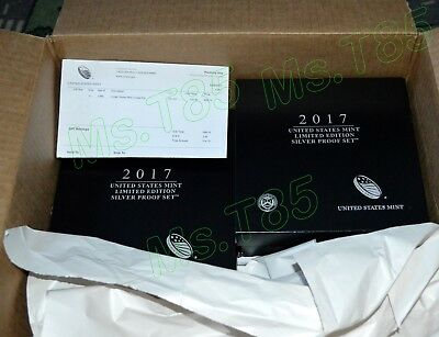 2017 United States Mint Limited Edition Silver Proof Set (LESPS) 8pc - Free S&H