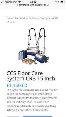 Crb Carpet Cleaning Machine