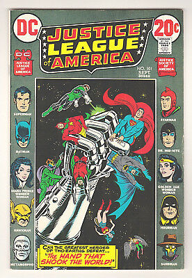 Justice League Of America #101 - Dc (September 1972) - 5.0 Vg/fn Condition
