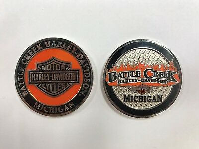 Harley-Davidson Battle Creek H-D Challenge Coin HDMC1026