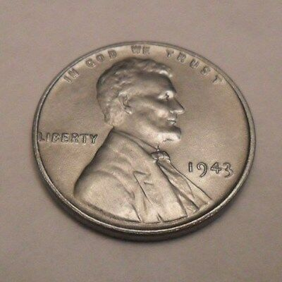 1943 P Steel Wheat Cent / Penny *LIGHTLY CIRCULATED*  *FREE SHIPPING*