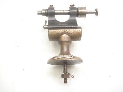 Watchmakers Lathe Tailstock And Bed Extension Rare