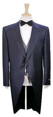 NWT New * CANALI * Recent Charcoal Royal Ascot Morning 3-Pc Wool Tails Suit 42R