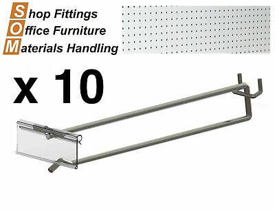 Chrome Hook And Flipper For Metal Panel Display