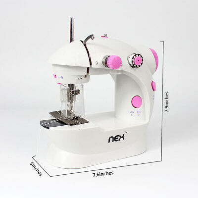 Sewing Machine Electric Mini With Light Household Double Thread Low Noise