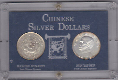 Authentic Chinese Silver Dollars Set - Issued By The Washington Mint